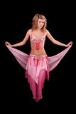 женщина танцы Стоковая Фотография RF