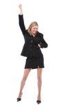женщина танцы Стоковые Фото