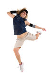 женщина танцы Стоковое Изображение RF