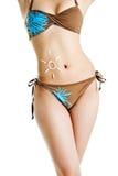 женщина тела Стоковая Фотография