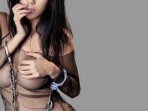 женщина тела сексуальная Стоковая Фотография