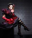 женщина типа съемки способа куклы творческо составьте Д-р фантазии стоковые изображения