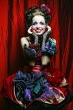 женщина типа съемки способа куклы творческо составьте стоковые изображения rf