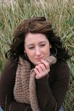 женщина травы Стоковые Фото