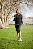 женщина тренировки Стоковое Изображение