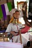 женщина трибы padaung Стоковое фото RF