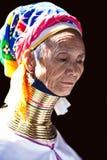 женщина трибы padaung Стоковые Изображения RF