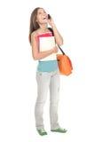 женщина университета студента стоковая фотография rf