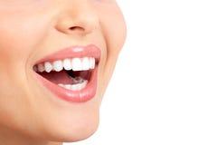женщина усмешки Стоковое Фото