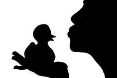 женщина утки Стоковое Изображение