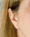 женщина уха Стоковая Фотография RF