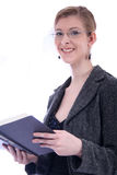 женщина учителя студента законоведа etc дела Стоковые Изображения
