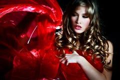 женщина фантазии стоковая фотография rf