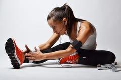 Женщина фитнеса Стоковая Фотография RF