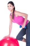 Женщина фитнеса Стоковая Фотография