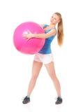 Женщина фитнеса Стоковые Изображения RF