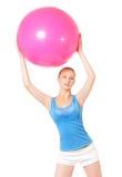 Женщина фитнеса Стоковое Изображение
