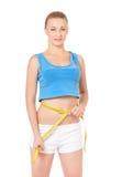 Женщина фитнеса Стоковое Изображение RF