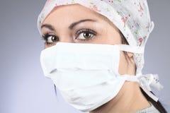 Женщина хирургов Стоковые Фото