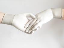 женщина человека рук Стоковое фото RF