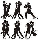 женщина человека танцульки Стоковые Фотографии RF