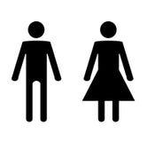 женщина человека Стоковое Фото