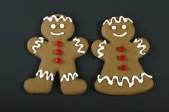 женщина человека gingerbread Стоковое фото RF