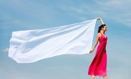 женщина шали Стоковые Фото