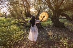 Женщина шамана стоковые фото