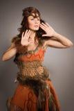 Женщина шамана Стоковые Фотографии RF