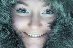 женщина шерсти Стоковая Фотография RF