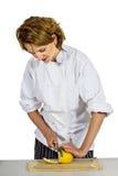 женщина шеф-повара Стоковые Изображения RF