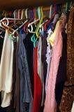 женщина шкафа Стоковые Изображения RF