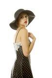 женщина шлема сексуальная Стоковая Фотография