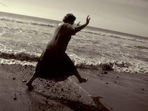 женщина энергии возмужалая Стоковые Изображения