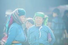 Женщина этнического меньшинства в солнечности Стоковые Изображения RF