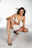 женщина юбки Стоковое фото RF