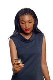 Женщина дела афроамериканца Стоковые Фотографии RF