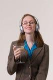 женщина 02 martini Стоковое Изображение RF