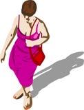 женщина иллюстрация вектора