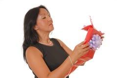 женщина 14 подарков s Стоковое Изображение