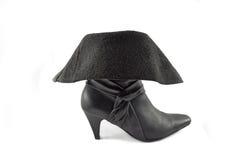женщина 2 ботинок Стоковое Изображение