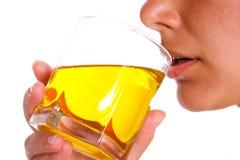 женщина 3 пить Стоковые Фотографии RF