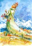 женщина Стоковые Изображения