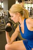 женщина 8 weightlifter Стоковая Фотография