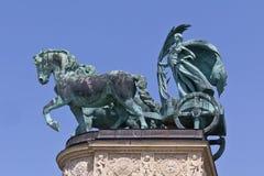 женщина chariot Стоковые Изображения