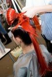 женщина coiffure Стоковое Изображение RF