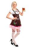 женщина costume традиционная нося Стоковые Изображения