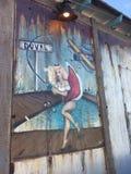 Женщина Duval Key West стоковое изображение