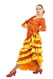 женщина flamenco танцора Стоковое фото RF